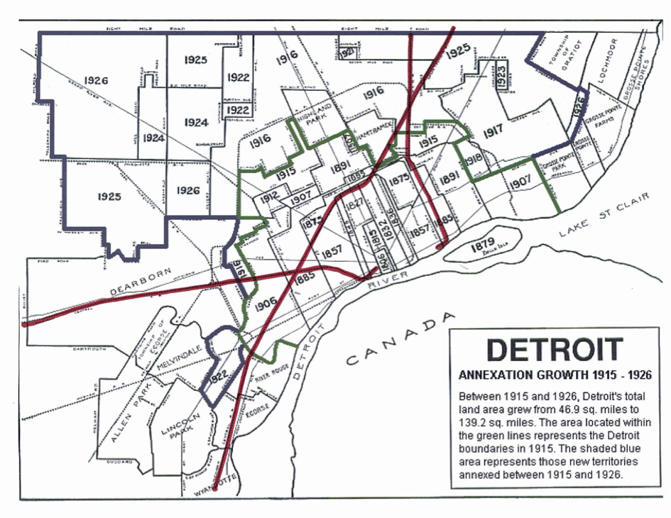 Nine Reasons Why Detroit Failed