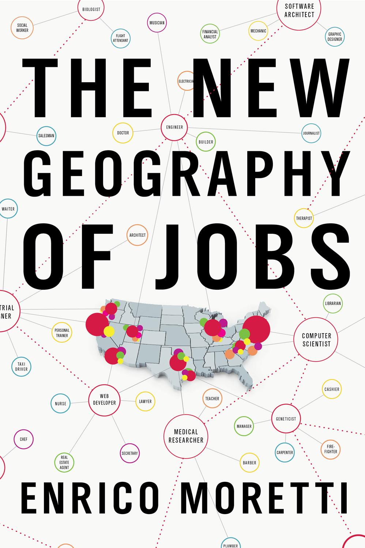 Afbeeldingsresultaat voor moretti geography of jobs
