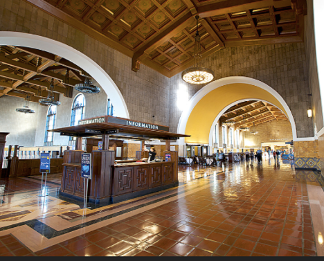 los angeles union station looks great and works well too. Black Bedroom Furniture Sets. Home Design Ideas