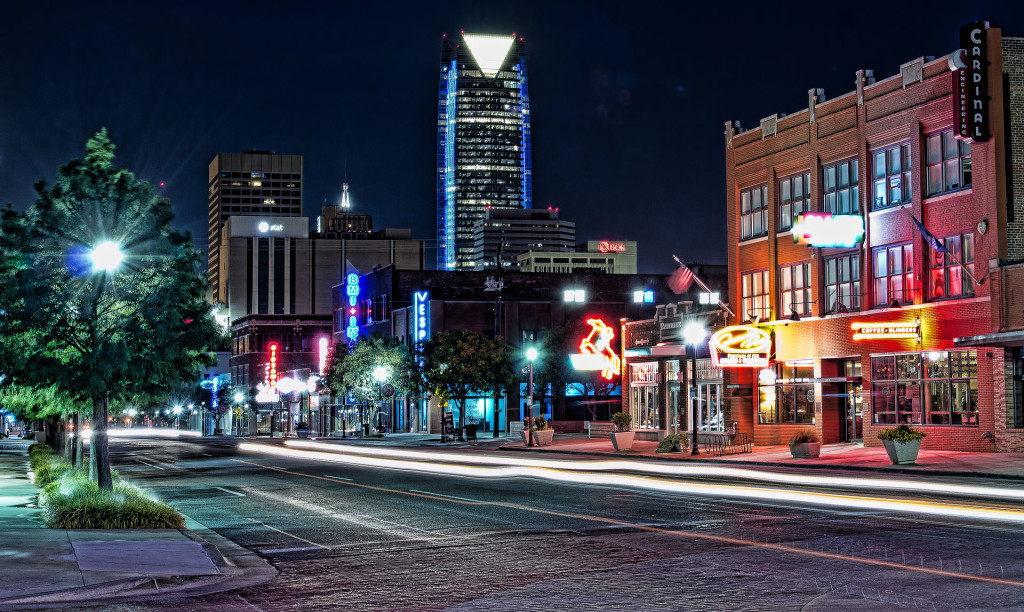 """Automobile Alley in Oklahoma City"" by katsrcool/Flickr. Licensed under CC BY 2.0"