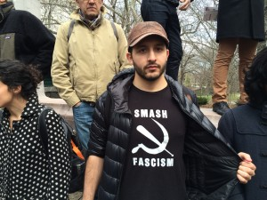 What I Saw and Heard at the Antifascist Protest Against Trump