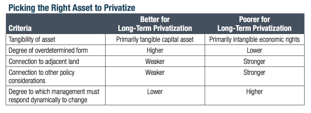 privatization-asset-matrix