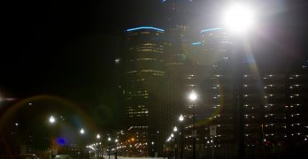 Detroit's New Streetlights Show Service Rebuilding in Action