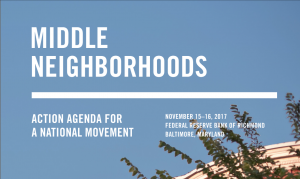 An Action Agenda for Middle Neighborhoods