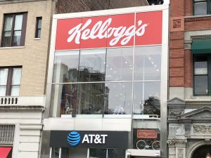 New York's Unique Retail Dynamics: Kellogg's Cafe