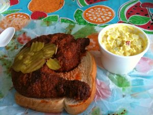Nashville Hot Chicken and the Pork Tenderloin: A Tale of Two Sandwiches