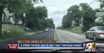 Half Paved Street Shows the Case for Merger